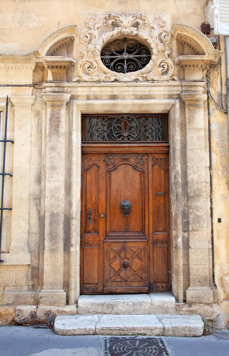 The trendy Mazarin district in Aix