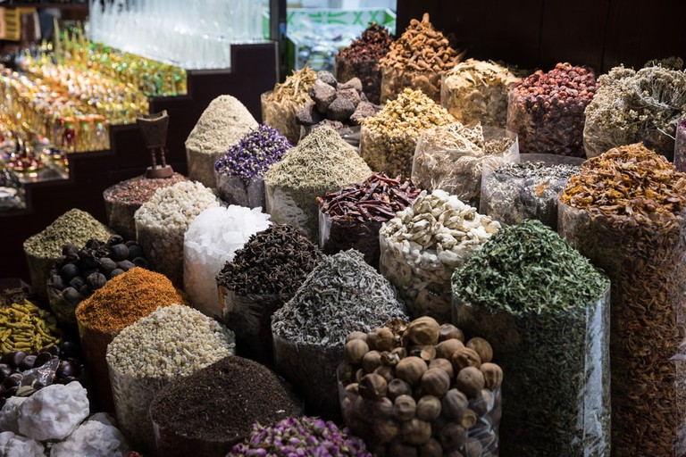Gold & Spice Souk in Old Dubai | © Martchan/Shutterstock