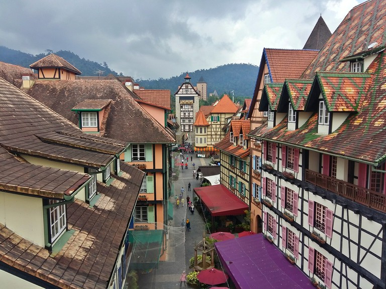 Colmar Tropicale French Theme Resort in Bentong