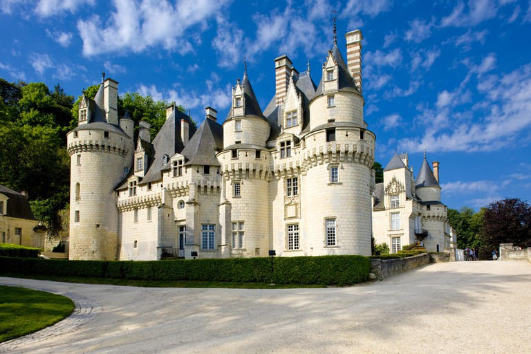 Château d'Ussé, which allegedly inspired the story of Sleeping Beauty