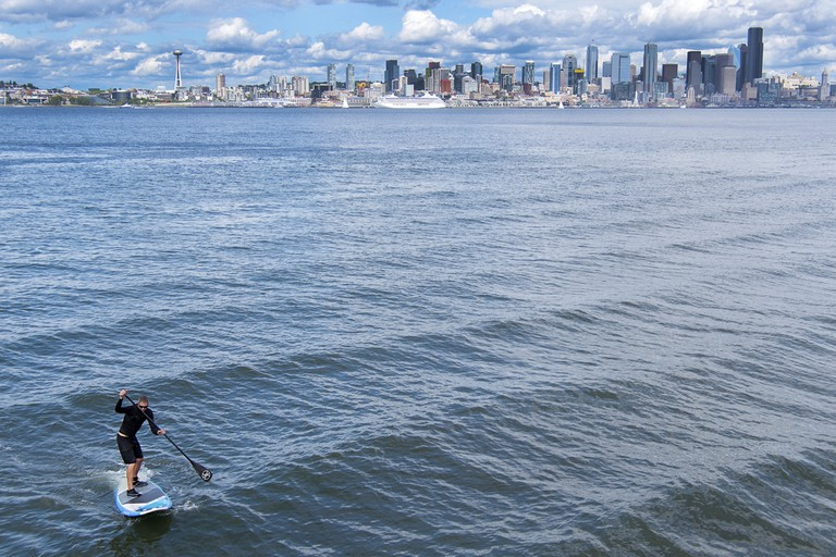 Seattleites love to make the most of good weather