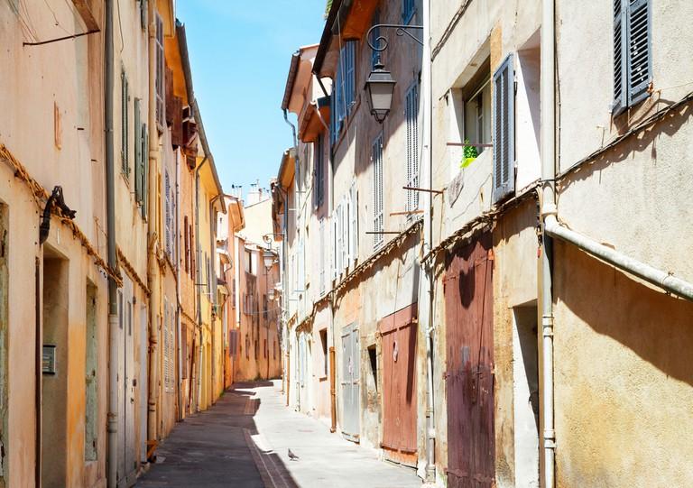 Walk the back streets of Aix en Provence