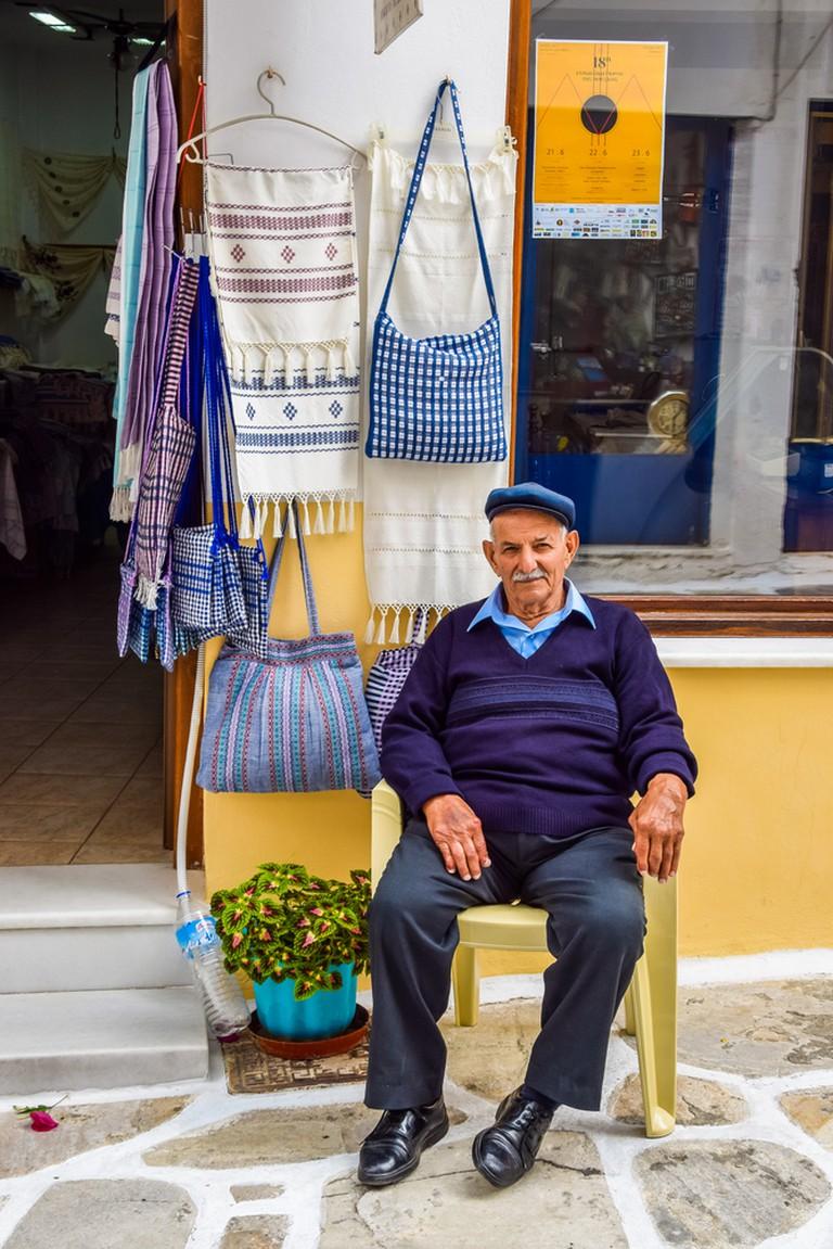 Traditional souvenir shop in Halki | © Nicole Kwiatkowski/Shutterstock