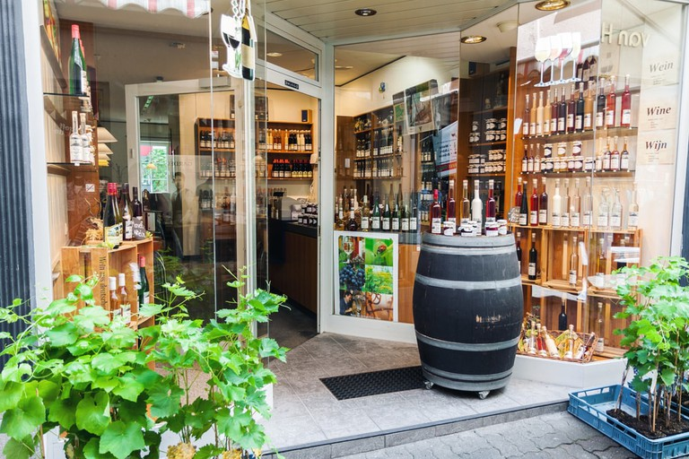 A traditional Moselle wine shop in Cochem