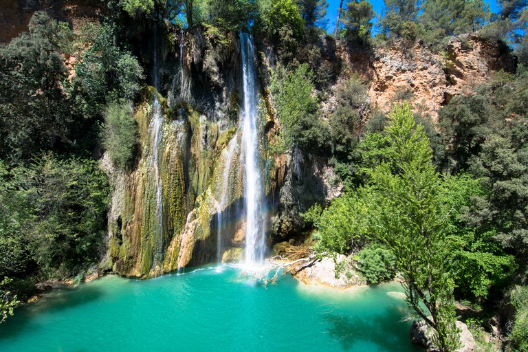 Hike to the waterfall and wild swim