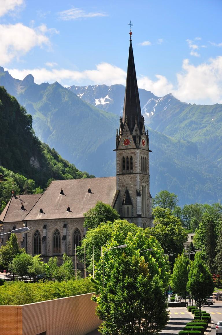 Vaduz Cathedral, Lichtenstein | © Telegin Sergey/Shutterstock