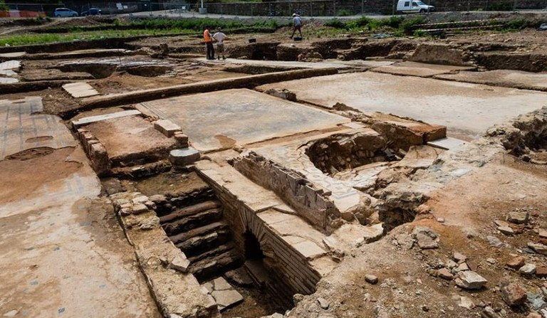 The site covers 60,000 square feet and is thought to be one of the best finds of Roman remains in recent years