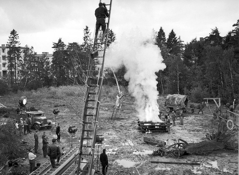 Filming The Seventh Seal
