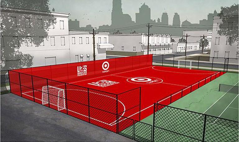 Field rendering | © U.S. Soccer Foundation