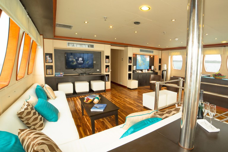 Social area on the majestic