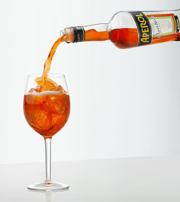 Spritz is made from aperol as a base