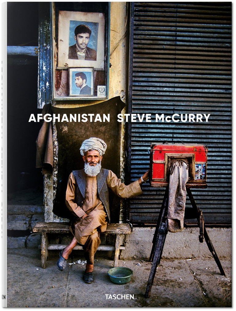 Steve McCurry, Afghanistan. Hardcover, 256 pages | Courtesy of TASCHEN