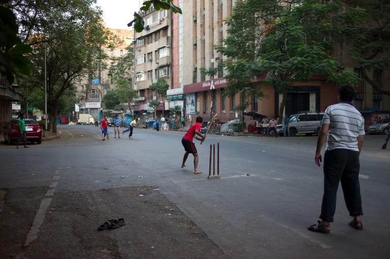 Street Cricket in India