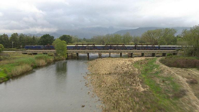 Blue Train river crossing