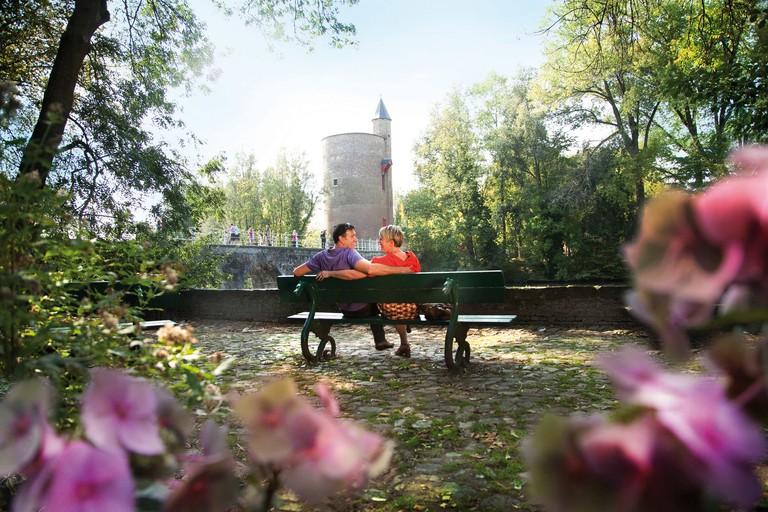The Lake of Love and its adjacent park | © Jan D'Hondt / Courtesy of Visit Bruges