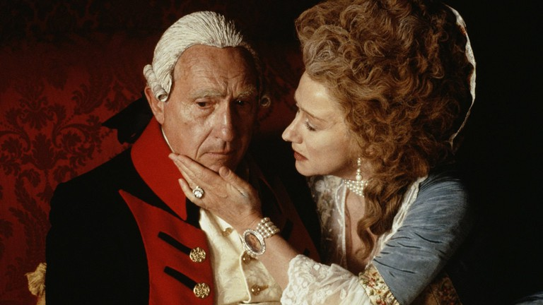 Nigel Hawthorne and Helen Mirren in <em>The Madness of King George</em> | © Channel Four Films