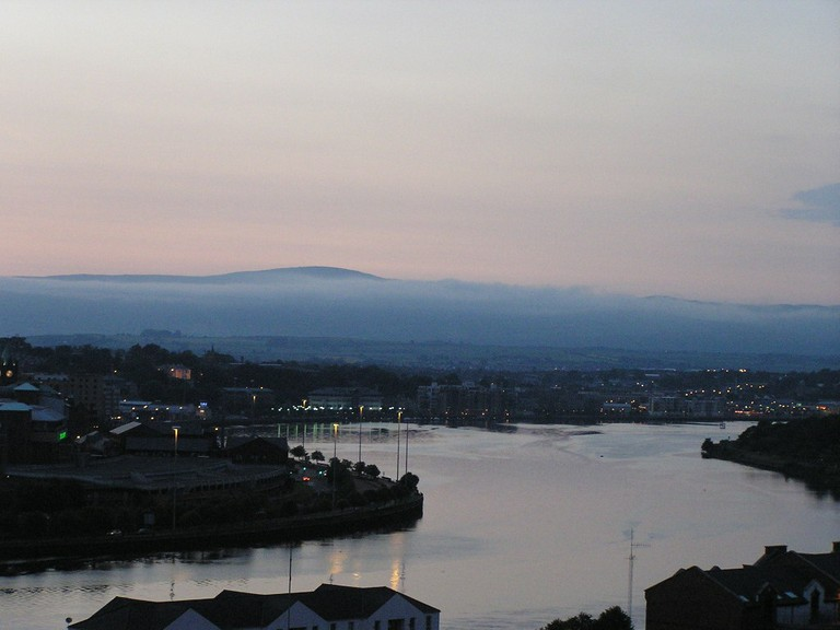 The Foyle at Derry/ Londonderry