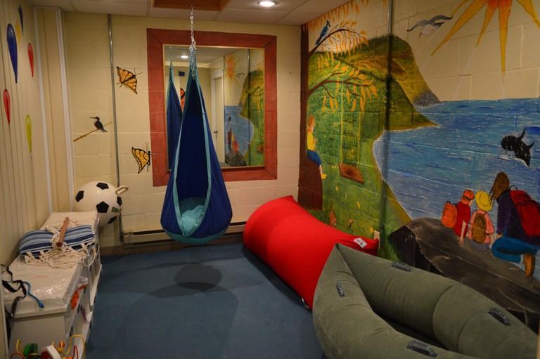 Hotel Port aux Basques' sensory room