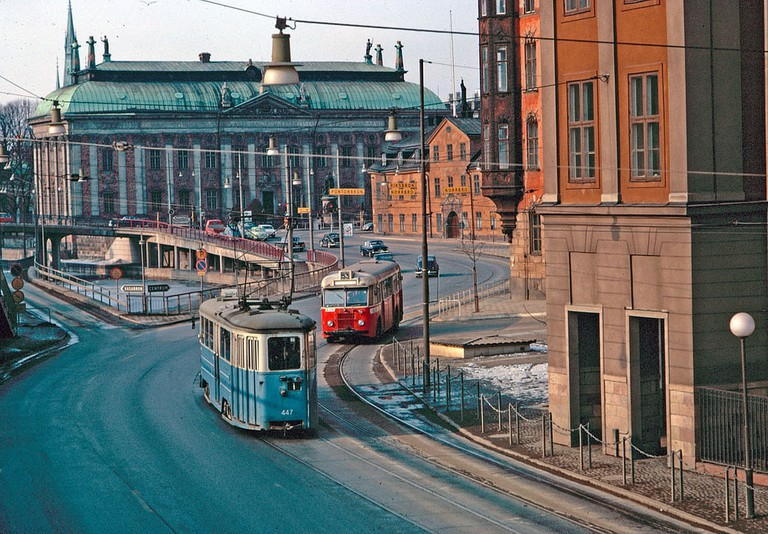 Take the tram to Djurgården