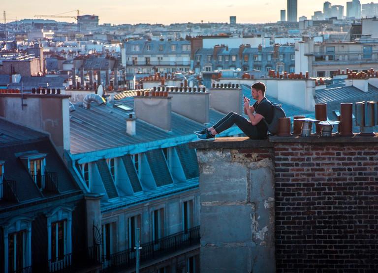 Paris at night │© Valentin Antonini