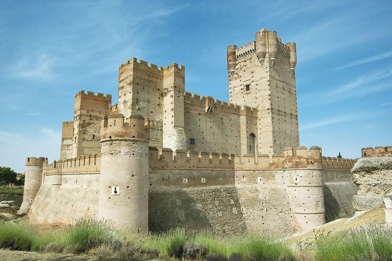 Castillo de la Mota, Spain | ©Garijo / Wikimedia commons