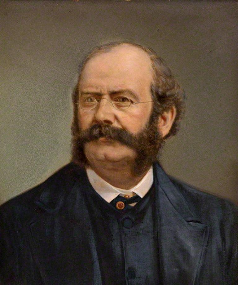 William Burges, portrait by Henry Van der Weyde (1838-1924)