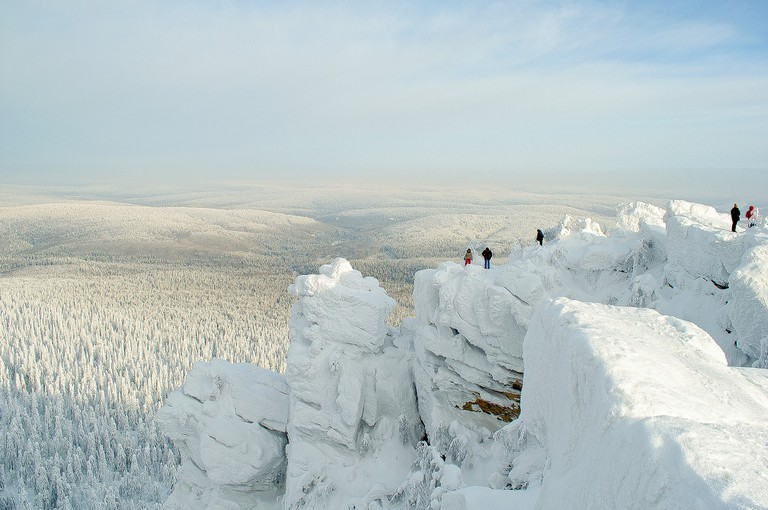 The Ural Mountains, birthplace of the Finnish language