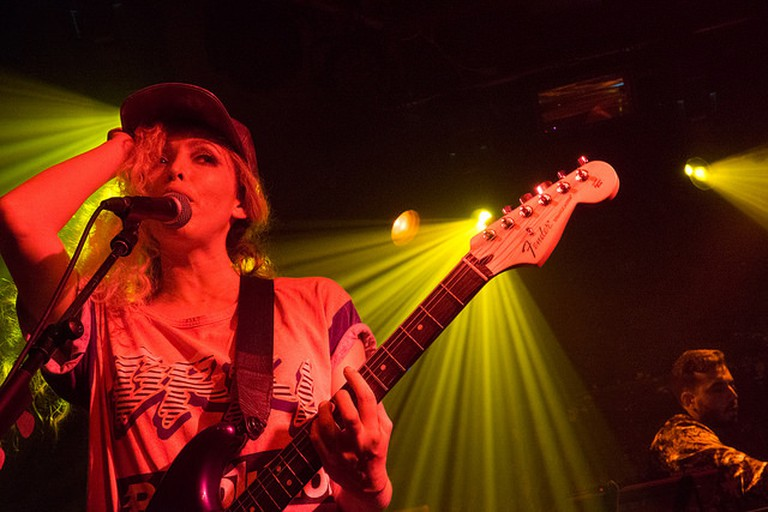Ting Tings on stage at XOYO