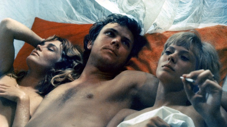 Louise Wink, Klaus Grünberg, and Mimsy Farmer in More
