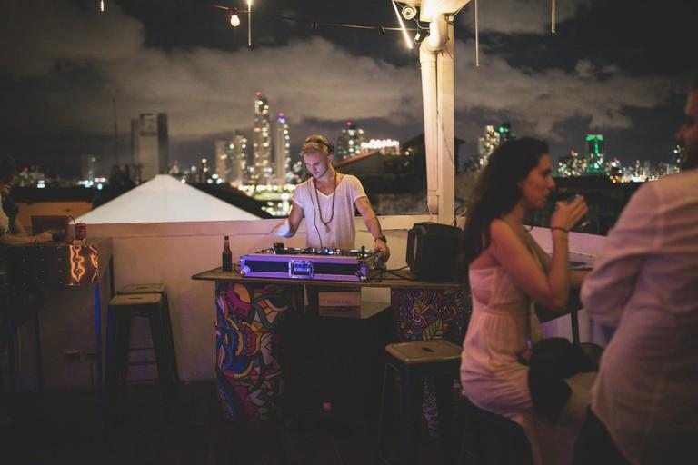 Rooftop Bar at Tantalo Hotel, Panama City
