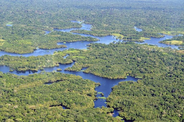 The Amazon basin | © Neil Palmer/WikiCommons