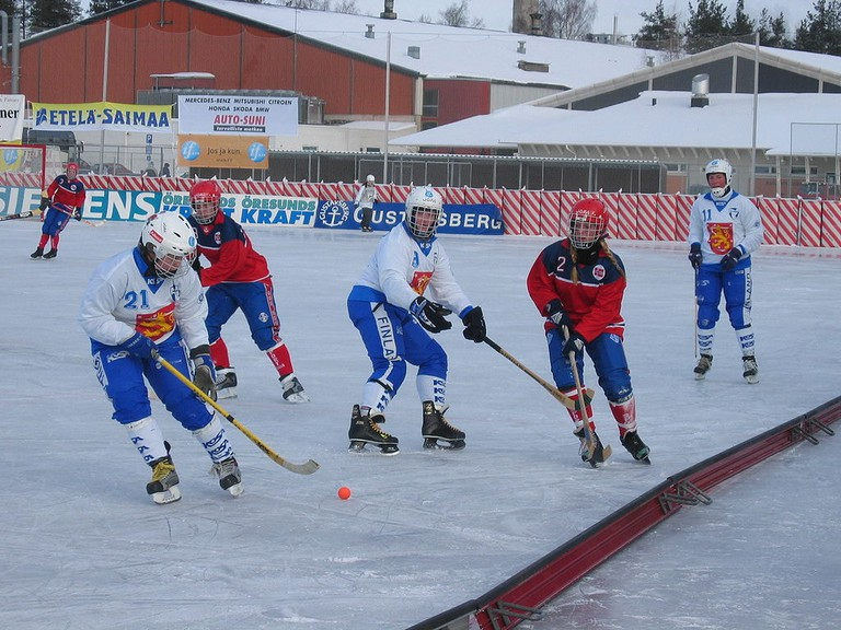 Ice hockey game against Norway / Public domain / WikiCommons