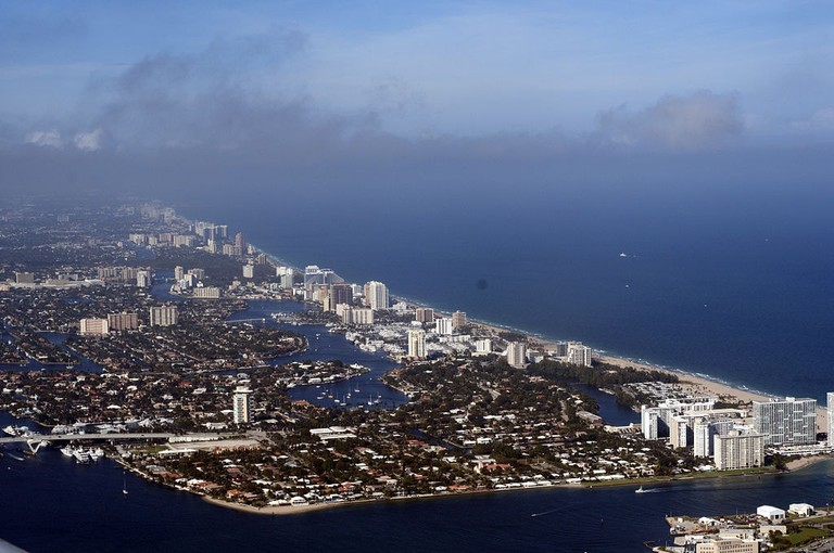 Aerial view of Fort Lauderdale