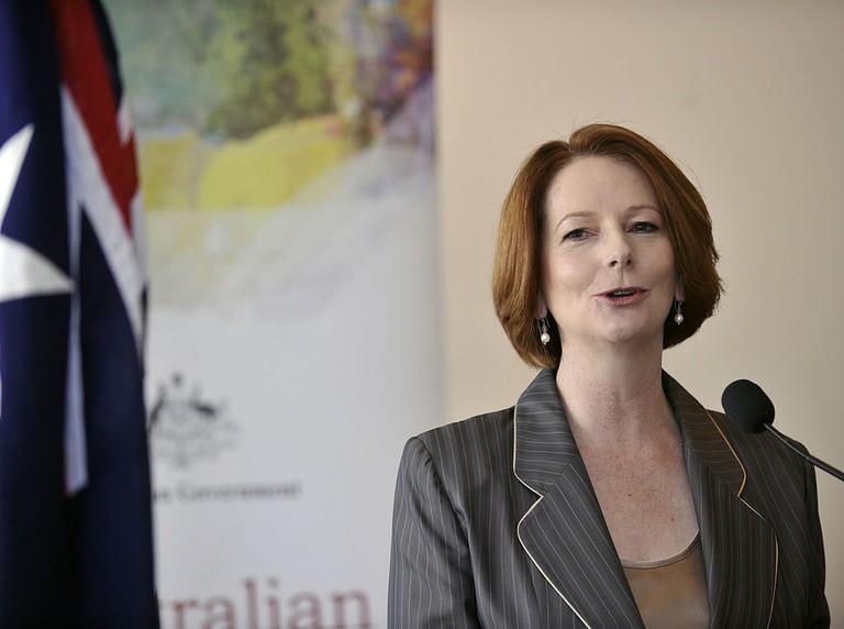 Julia Gillard August 2011