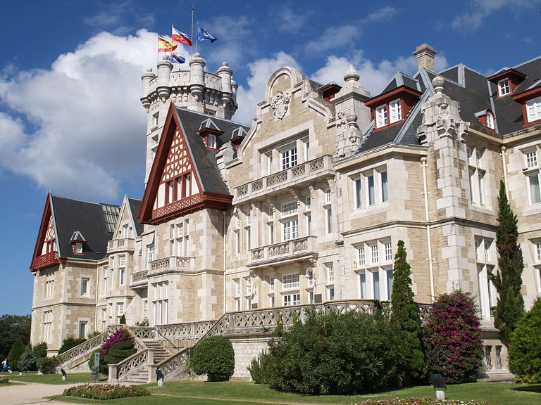 Palacio de la Magdalena, Santander | ©HumanMistery92 / wikimedia Commons