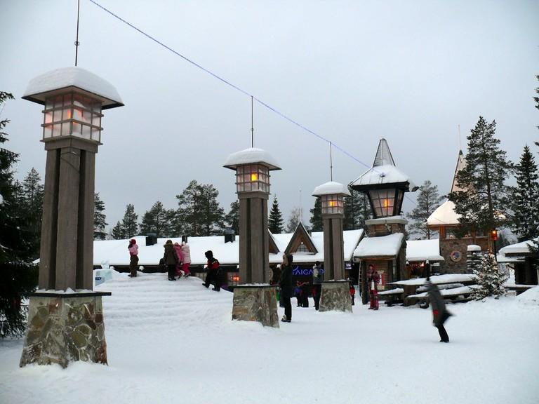Santa Claus Village in Rovaniemi / Andriychenko / WikiCommons