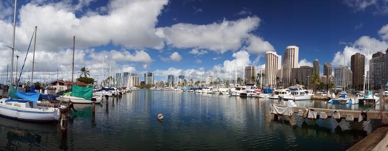 Ala Wai Boat Harbour Honolulu