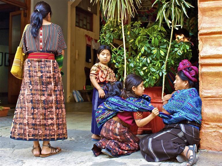 Antigua Guatemala people
