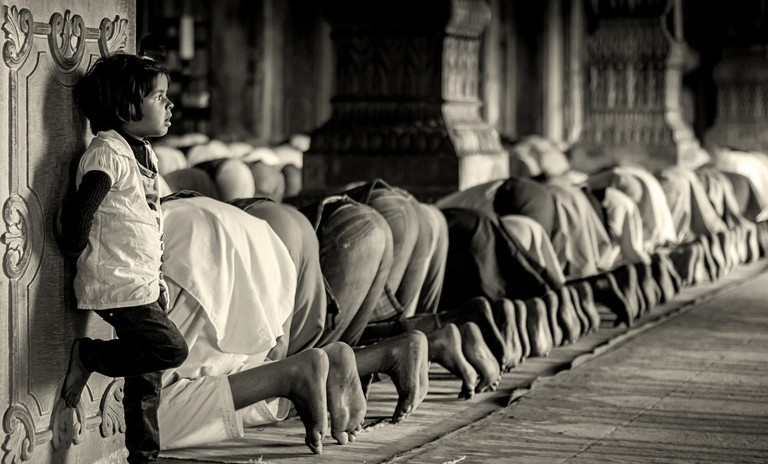Lost in Prayers By: Rajarshi MITRA