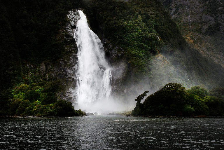 Lady Bowen Falls, Fiordland National Park
