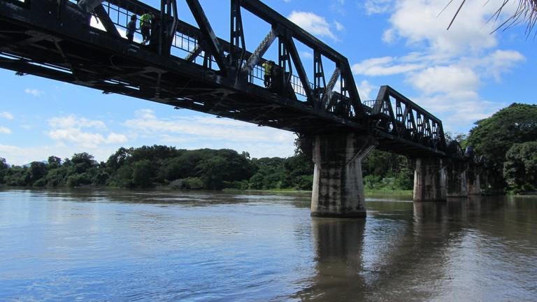 Kanchanaburi's famous bridge