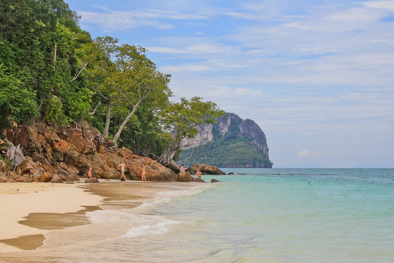 Koh Phi Phi – not a bad spot for a wedding