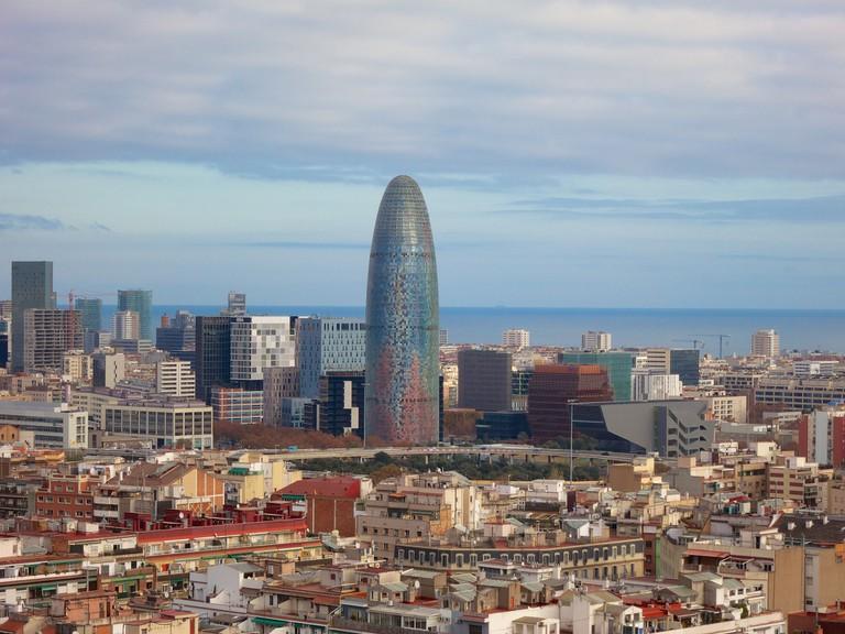 Barcelona's business district © Ania Mendrek