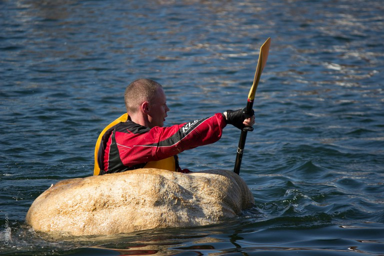 Pumpkin canoe race | © Cory Hanson/Flickr