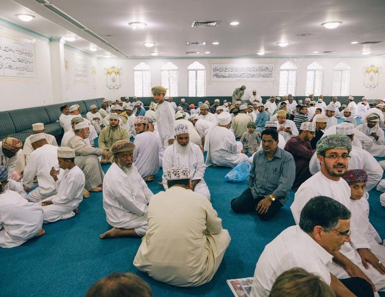 Omani Sabla (Meeting Place)