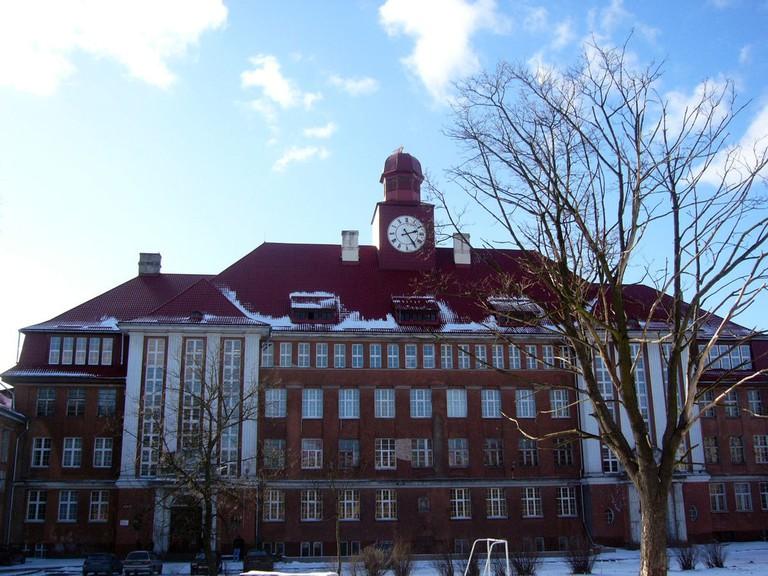 One of the older buildings of Kant University in Kaliningrad.