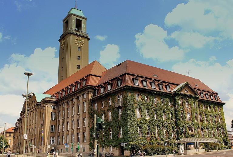 Spandau Rathaus City Hall, Berlin, Spandau, Germany