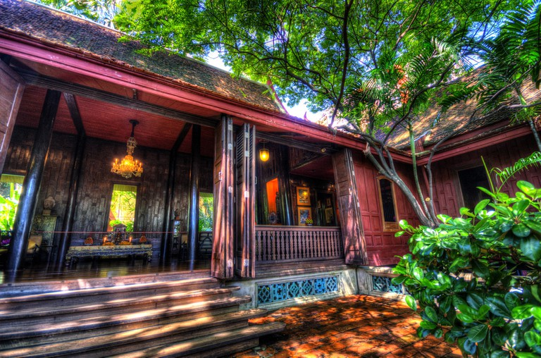 Today Jim Thompson's house is a popular museum