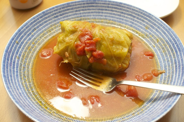Traditional cabbage rolls