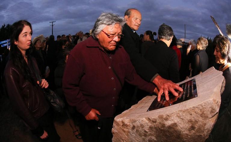 Waikato Land War Commemoration Event in 2014
